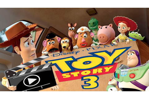 FULL MOVIE GAME ENGLISH TOY STORY 3 DISNEY GAME BUZZ ...