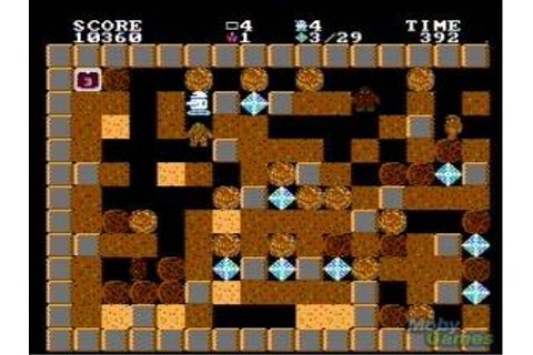 Game Classification : Crystal Mines (1989)