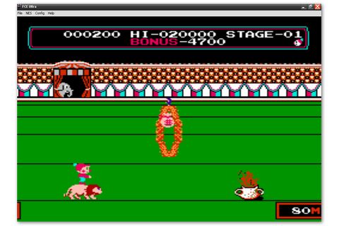 "Home Of hacked roms: ""CIRCUS CHARLIE (NES)"" INFINITE LIFE"
