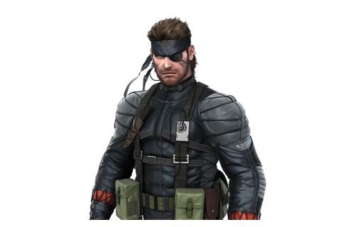 Solid Snake - Metal Gear Solid wallpaper - Game wallpapers ...