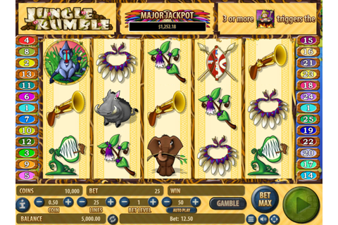 Free Jungle Rumble Slot Online » 777free-slots.com