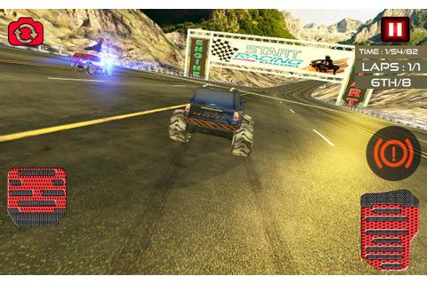 Monster Truck Offroad Chase Racing: Legends Hill APK ...