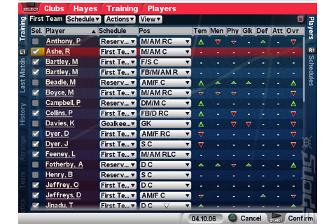 Screens: Championship Manager 2007 - PS2 (4 of 9)