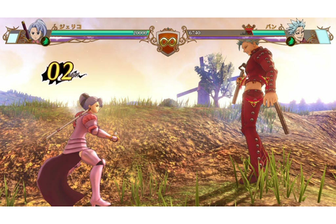 The Seven Deadly Sins: Knights of Britannia Screenshots ...