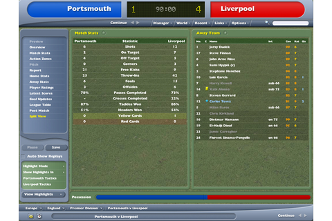 Football Manager 2005 Recension - Gamereactor
