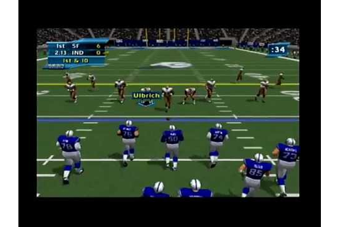 NFL 2K2 Gameplay(Dreamcast) - YouTube