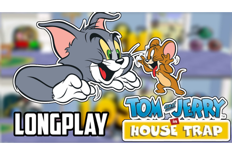 Longplay - Tom & Jerry in House Trap (PS1) - YouTube