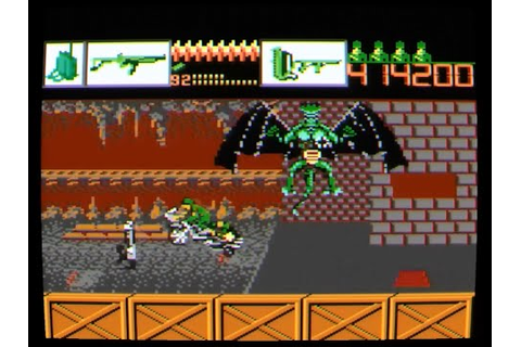 Atari 7800 Alien Brigade - YouTube