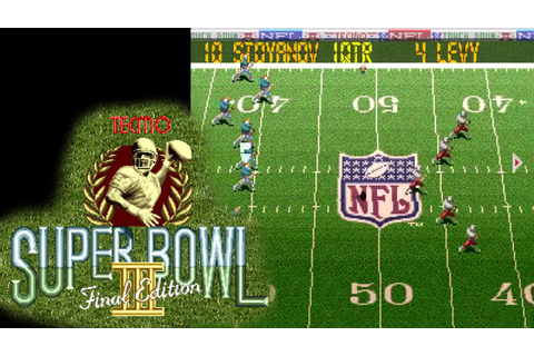 Tecmo Super Bowl III: Final Edition ... (SNES) 60fps - YouTube