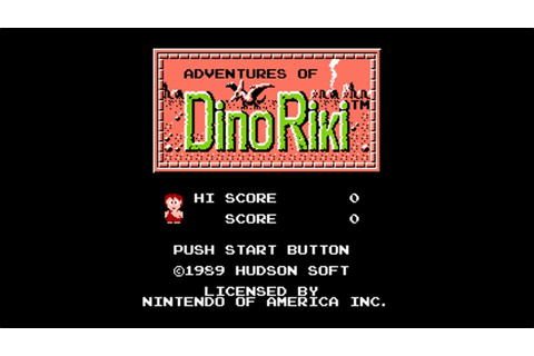 Adventures Of Dino Riki (NES) Game Hub – Nintendo Times