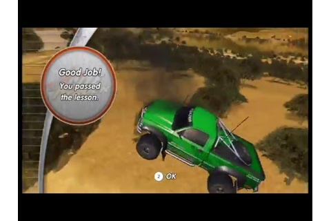 Excite Truck S-Rank Playthrough - Tutorials - YouTube