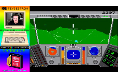 Rescue on Fractalus - 1987 - Tandy Color Computer 3 game ...