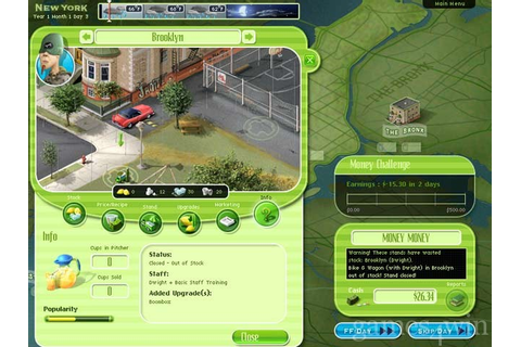 Lemonade Tycoon 2 Download on Games4Win