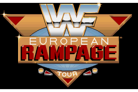 WWF European Rampage Tour (1992) by Arc Developments Amiga ...