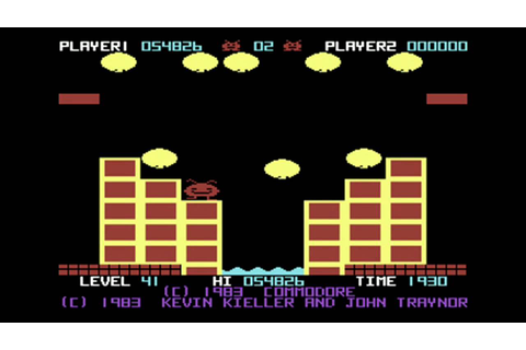 C64-Longplay - Jack Attack -all levels (720p) - YouTube