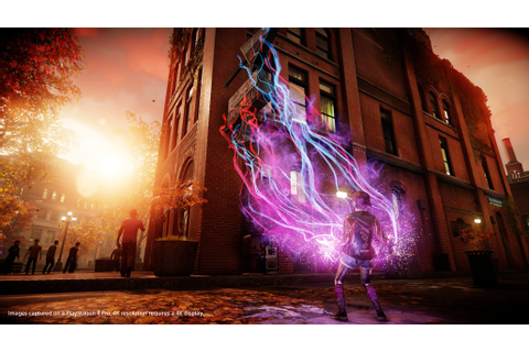 Infamous First Light Looks Great in These New 4K PS4 Pro ...