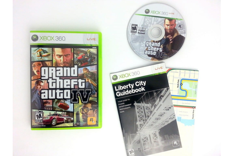 Grand Theft Auto IV game for Xbox 360 (Complete) | The ...