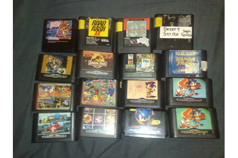 Sega Genesis game collection by Sega32x on DeviantArt