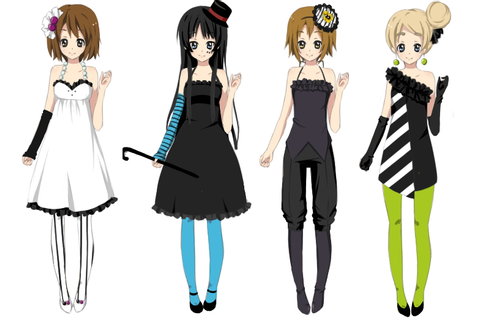 K-ON Dress Up Game on KawaiiPandah-Games - DeviantArt