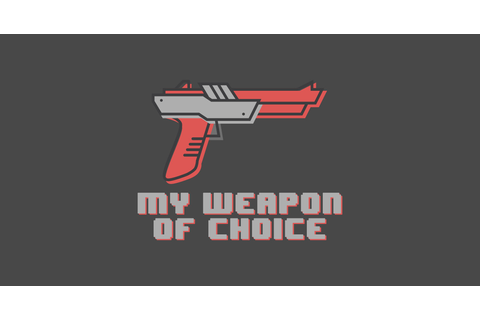 My Weapon Of Choice is Nintendo Zapper Video Game Shirt ...