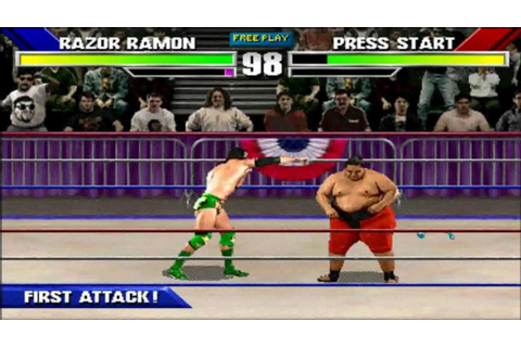 WWF WrestleMania: The Arcade Game Playthrough ...