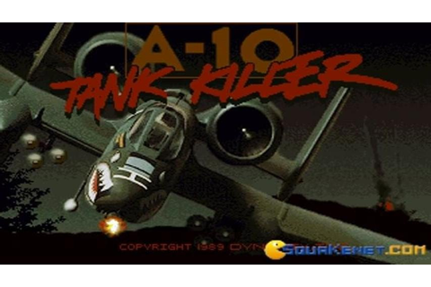 A-10 Tank Killer gameplay (PC Game, 1989) - YouTube