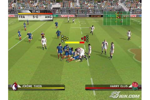 Rugby Challenge 2006 Screenshots, Pictures, Wallpapers ...