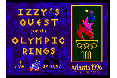Скачать Izzy's Quest for the Olympic Rings (SEGA) 1996 English