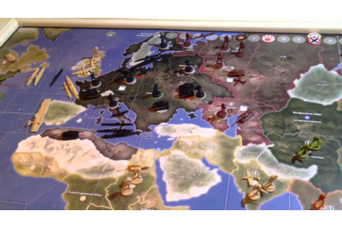 Axis and Allies - How to Play - Part 2 of 5 (1941 Edition ...