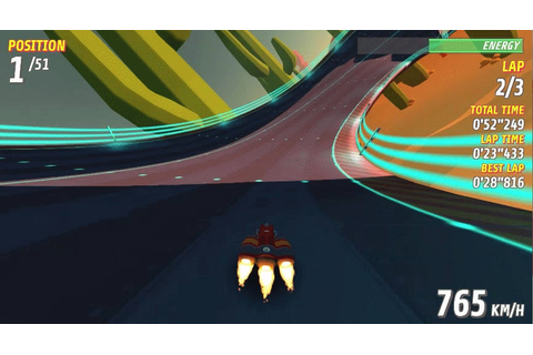 A Racing Game With Some Serious F-Zero Vibes | Kotaku ...