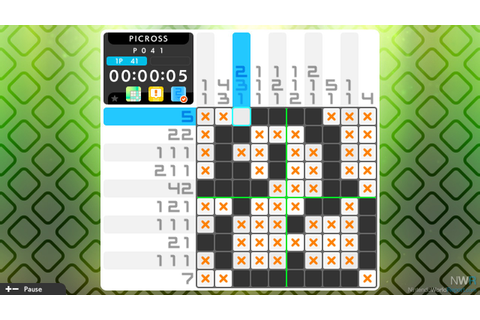 Picross S3 Review - Review - Nintendo World Report