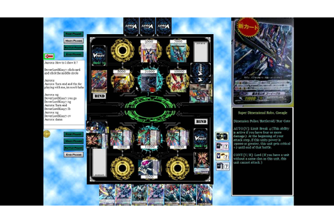 "Cardfight Vanguard Online Game #1 ""And so it Begins ..."