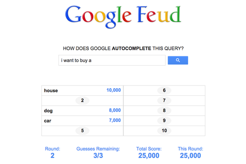 This Game Turns Google Autocomplete Into A Game Of Family ...