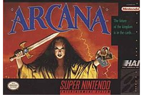 Arcana (video game) - Wikipedia
