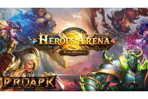 Heroes Arena MOBA Gameplay Android / iOS (by uCool) - YouTube