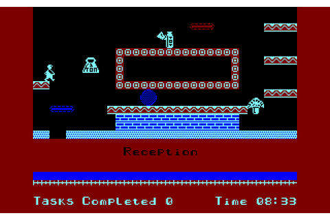 Technician Ted (1984) by Micro User Amstrad CPC game