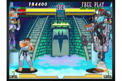 Marvel vs Capcom Origins Demo: MvC Ryu and Chun li ...