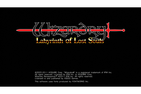 Wizardry: Labyrinth of Lost Souls (Gameplay) - YouTube