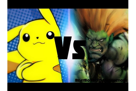 Pikachu Vs Blanka (Rap Battles Of Video Games All Stars ...