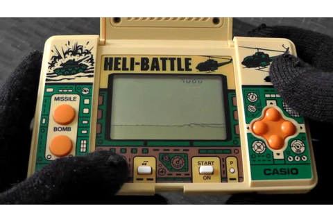 Casio Heli-Battle 1987 CG-370 quartz game - YouTube