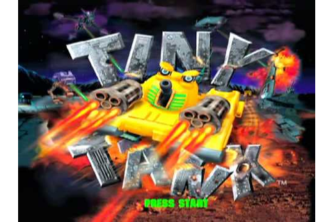 Tiny Tank Game Sample - Playstation - YouTube