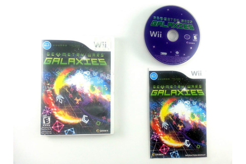 Geometry Wars Galaxies game for Wii (Complete) | The Game Guy