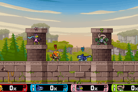Rivals of Aether is like a beautiful, indie version of ...