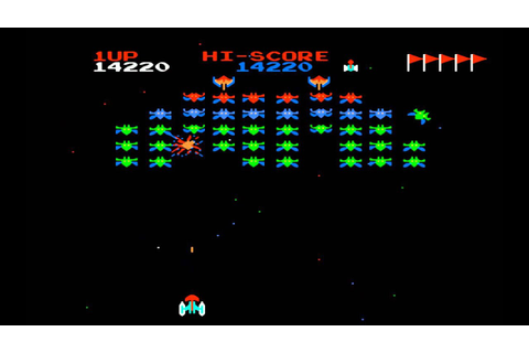 Galaxian (FDS) Gameplay - YouTube
