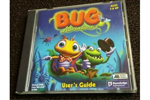 Bug Adventure - PC CD Computer game Complete Kids game ...