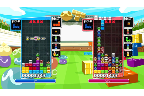 New Games: PUYO PUYO TETRIS (PS4, Nintendo Switch) | The ...