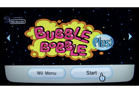 Bubble Bobble Plus! WiiWare Review for Nintendo Wii - YouTube