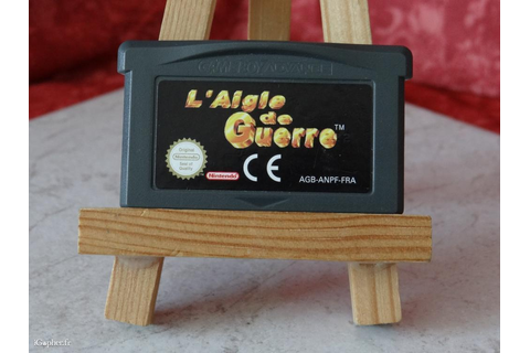 Jeu : L'aigle de guerre (Game Boy Advance) - iGopher.fr