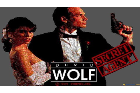 David Wolf: Secret Agent gameplay (PC Game, 1989) - YouTube