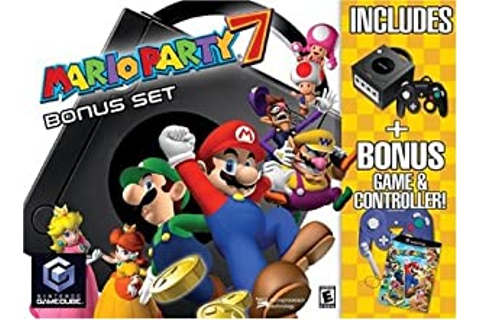 Amazon.com: Game Cube Mario Party 7 Bundle: Unknown: Video ...